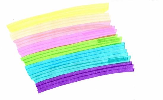 Sekretariat Mamma mit Farben organisieren