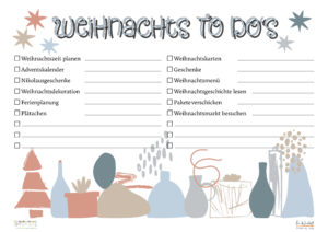 Weihnachts-To-Dos