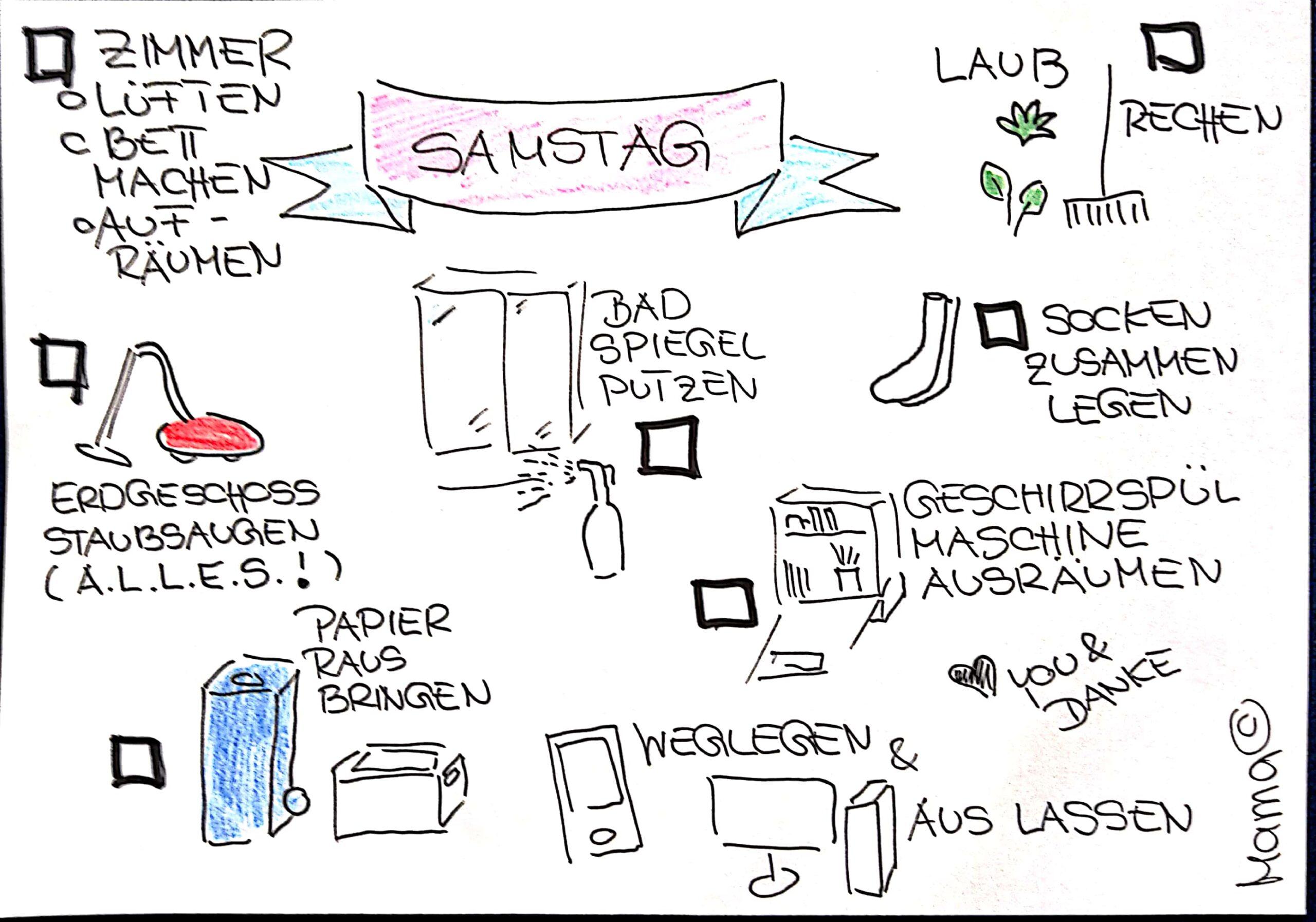Sketchnote To-Do-Liste